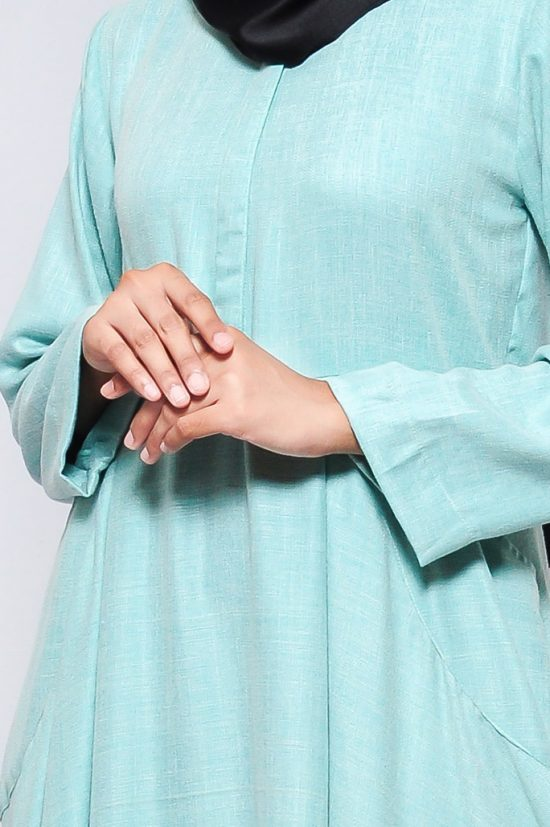 Jual Nadiva Dress Gamis Modern Simple Minimalis by Hijab Naya 01002